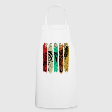 Zebra Zebra retro - Cooking Apron