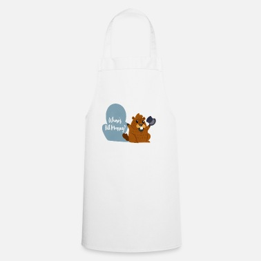 Tradition Funny Murray Marmot Tshirt Holiday Gift - Cooking Apron