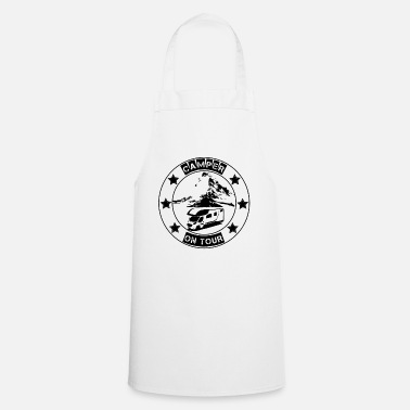 Camper on tour - gift idea for motorhome campers - Apron