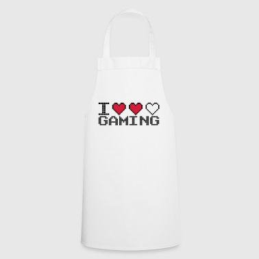 I Heart I Heart Gaming Quote - Tablier de cuisine