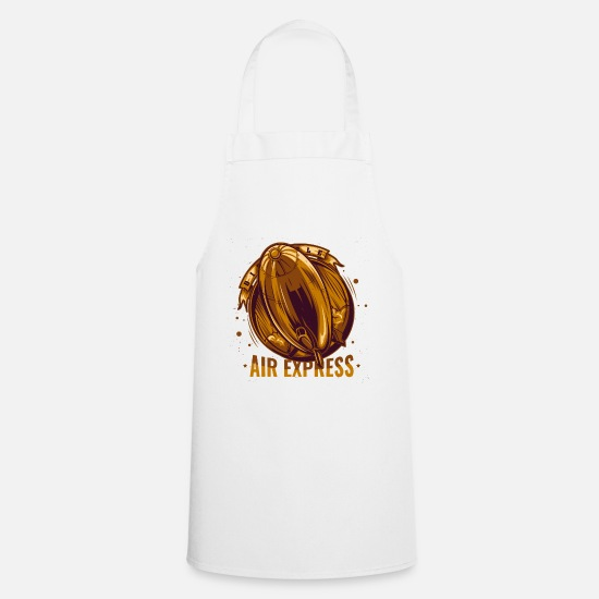 Freedom Fighters Aprons - Air Express - Apron white
