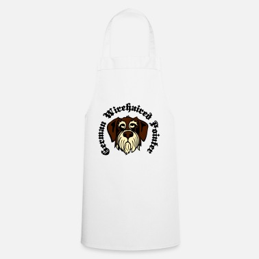 Gwp wirehaired_pointer_face_3c - Apron