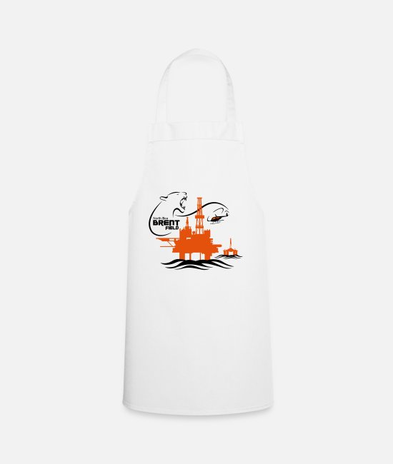 Brent Field Aprons - Brent Oil Field North Sea Aberdeen - Apron white