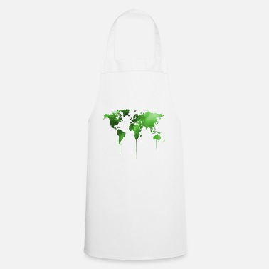 World Map map of the world - Cooking Apron