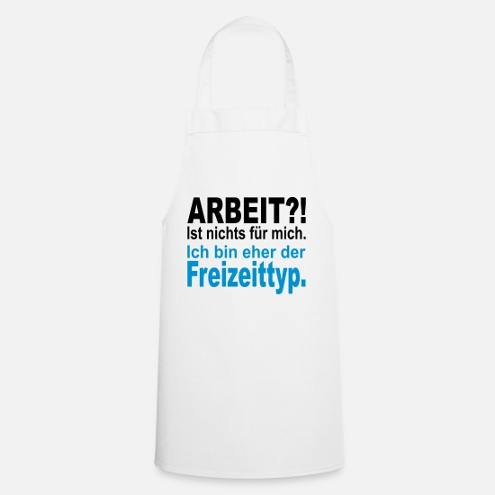 Tourist Aprons - leisure type - Apron white