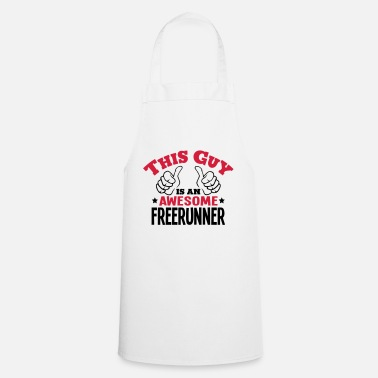 Free Running this guy is an awesome freerunner 2col - Apron