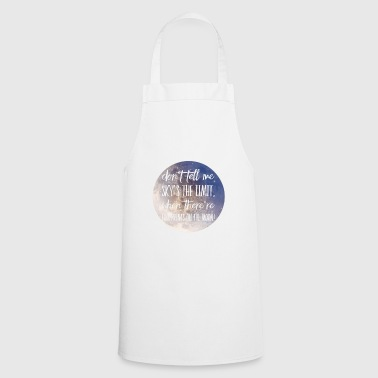 Occupation Moon Motivation Success Clothing MK Motivation - Cooking Apron
