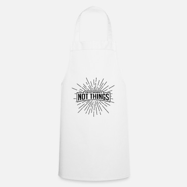 Collect Memories Collect Memories Black Gift - Apron