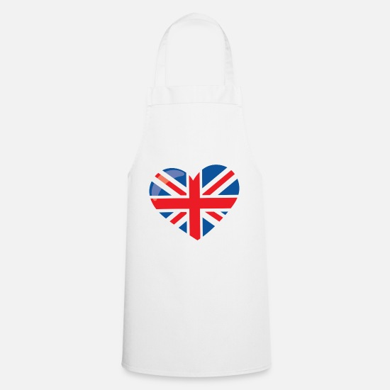 Love Aprons - LONDON - Apron white