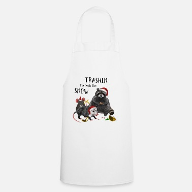 Brother Of Birthday Boy Christmas - Racoon Mouse Rat Opossum - Apron