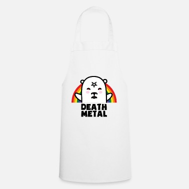 Death Metal Death Metal Stinky Bear - Cooking Apron