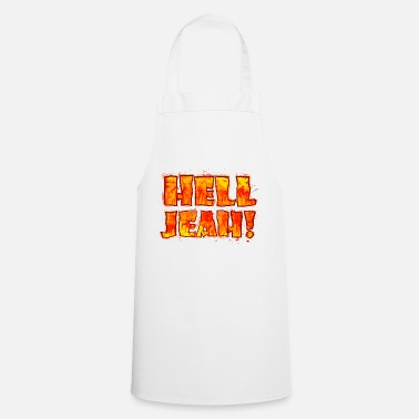 Of Arms Hell Jeah! (lettering) - Apron