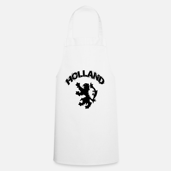 Patriot Aprons - Holland - Apron white