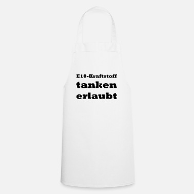 Stylish Fuel E10 fuel allowed - Cooking Apron