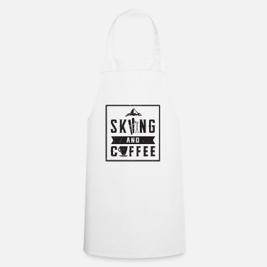 Winter Sports Skiing coffee winter sports skis snow winter - Apron