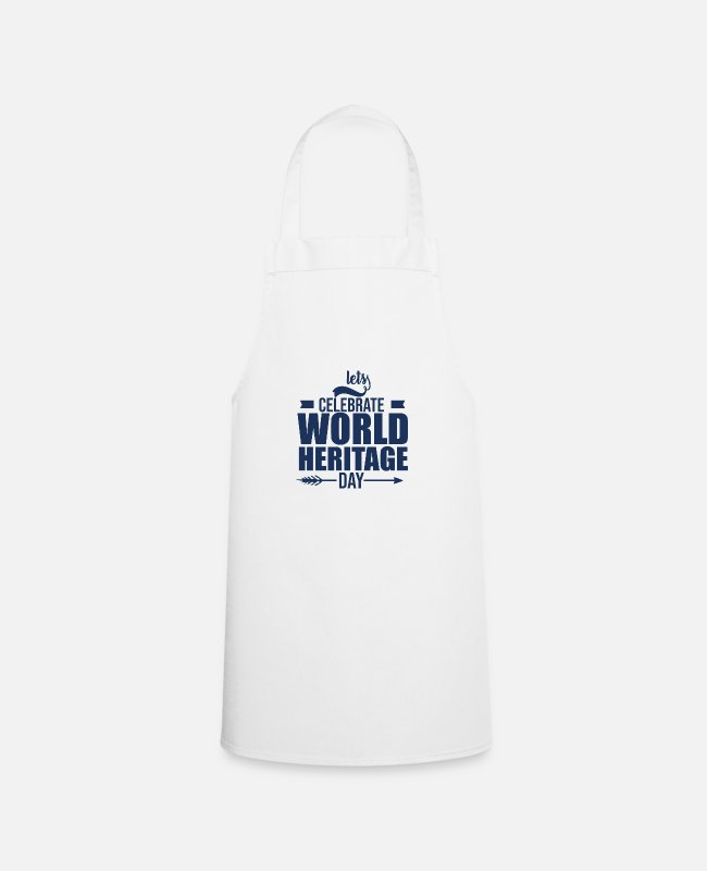 Family Crest Aprons - World Heritage - Apron white
