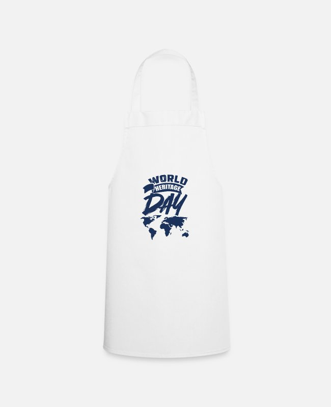 Family Crest Aprons - Day World Heritage World Heritage World Heritage Day Holiday - Apron white