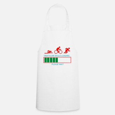 Biking Triathlon Swim Bike Run - Apron