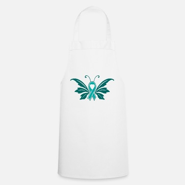 Sexuality Sexual Assault Butterfly Ribbon - Apron