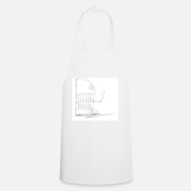 Drawing drawing - Cooking Apron