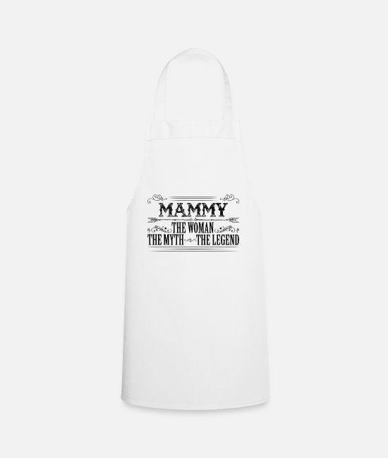 Coolest Mammy Ever Aprons - Mammy The Legend... - Apron white