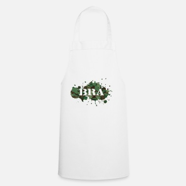 Scene Bra Music rap German rap camouflage 21 - Cooking Apron