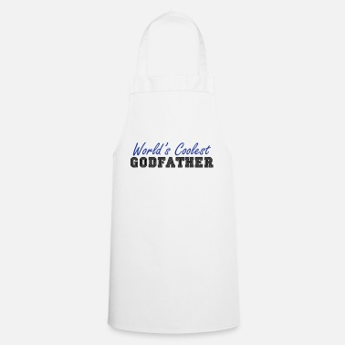 Worlds Coolest Godmother world's coolest godfather - Apron