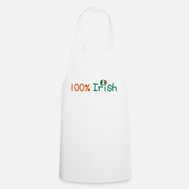 Marry Underwear ♥ټ☘Kiss Me I'm 100% Irish-Irish Rule☘ټ♥ - Apron