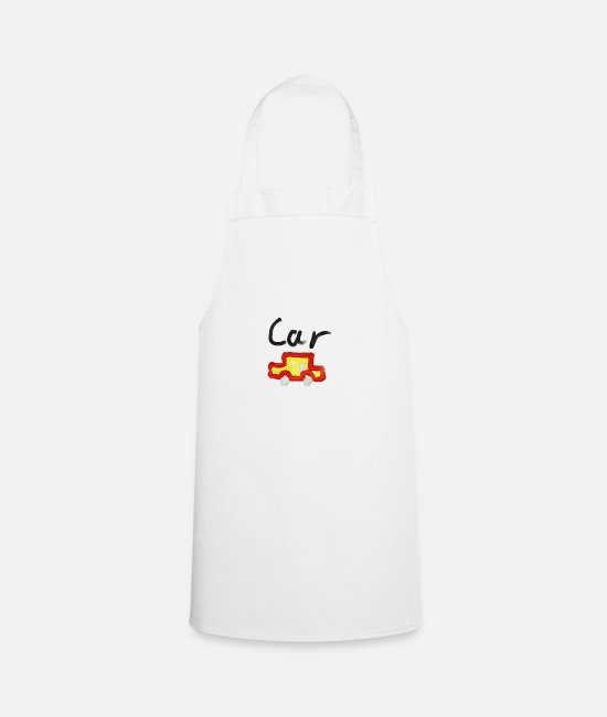 Vehicle Aprons - Car - Apron white