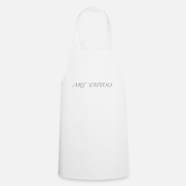 Artillery art tattoo GRAY - Cooking Apron