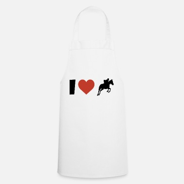 Western Riding I love riding riding western riding - Cooking Apron