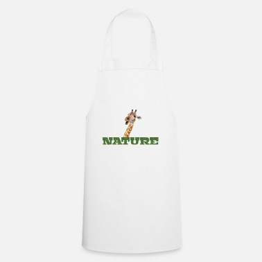 Nature Giraffe Natur Nature - Apron