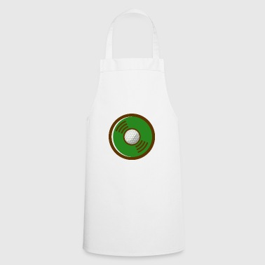 VINYL GOLD GOLD DESIGN - Cooking Apron