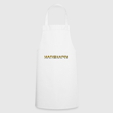 Mathematics Mathematics - Mathematics - Cooking Apron
