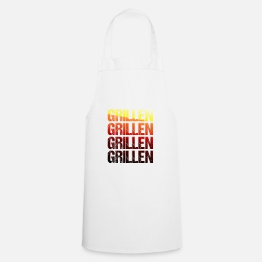 Bbq Barbecue TShirt Grillmeister barbecue season gift - Apron