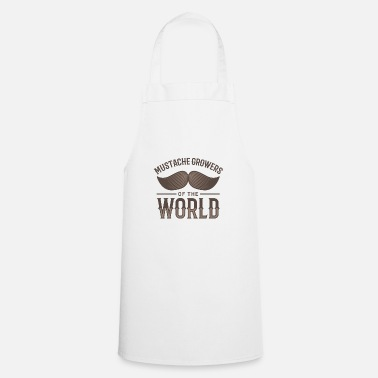 Mustasch Mustache Growers of the World - Apron