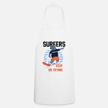 Hawaii surfers keep on trying - Cooking Apron