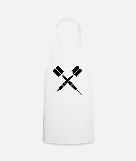 Arrow Aprons - Darts arrow - darts player darts darts arrow arrows - Apron white