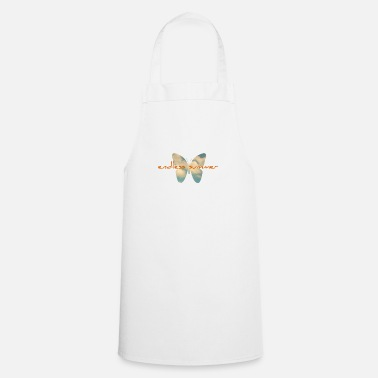 Surprise endless summer butterfly clouds free gift - Cooking Apron