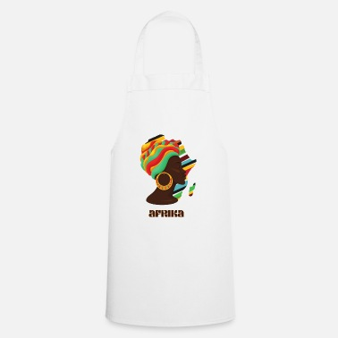 Africa African continent - Apron