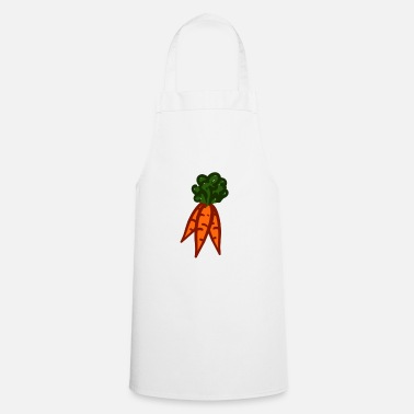 Carrot bundles / three carrots - Apron
