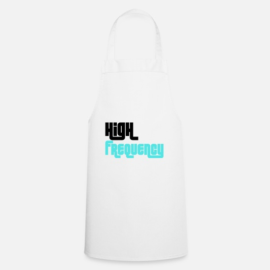 Highway To Hell Aprons - frequency - Apron white