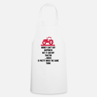 Tractor Farmer - Money can buy Tractor - Cooking Apron