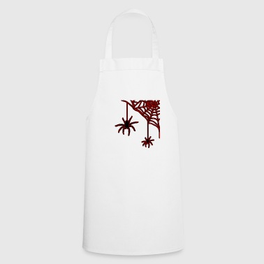 Web Spider - spider web - Cooking Apron