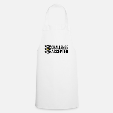 Challenge-accepted Challenge accepted - traffic light - Cooking Apron