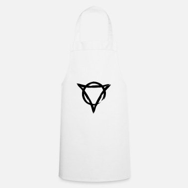 Hair Strength and radiance symbol black - Apron