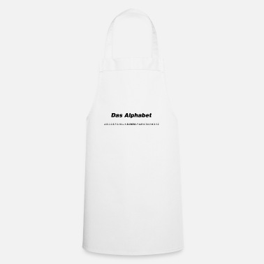 The alphabet (spoken) - Apron