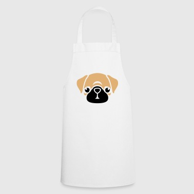Kawaii Mops Puggy - Tablier de cuisine