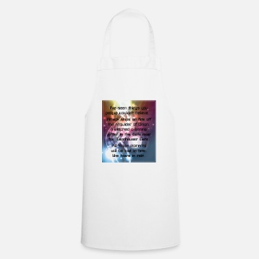 Nerd I've seen things you people... (Blade Runner) - Apron