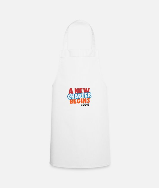 2019 Aprons - New year new year 2019 new year beer party year - Apron white
